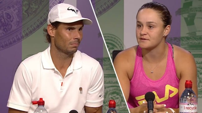 """I am more than Ash"": Nadal hits back at Ash Barty scheduling debate"