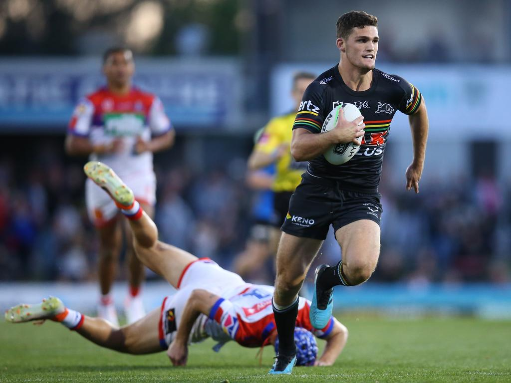 Nathan Cleary of the Panthers is one of the form players to keep an eye on in SuperCoach NRL