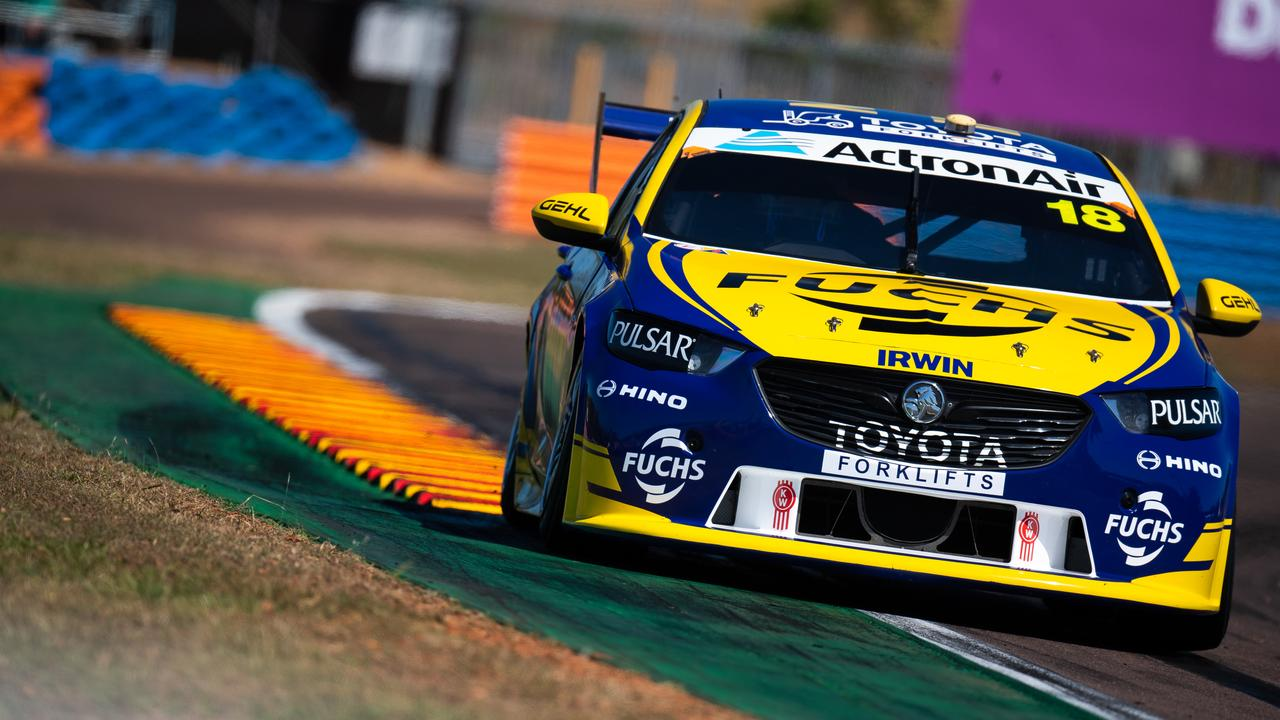 Winterbottom on track at the Darwin Triple Crown in June.