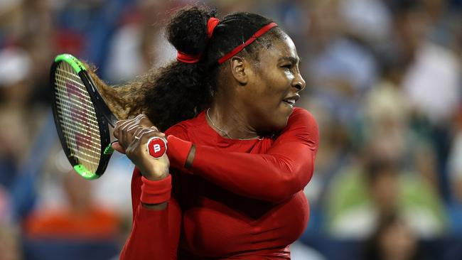Serena Williams is favourite to win the US Open. Picture: Matthew Stockman/Getty Images