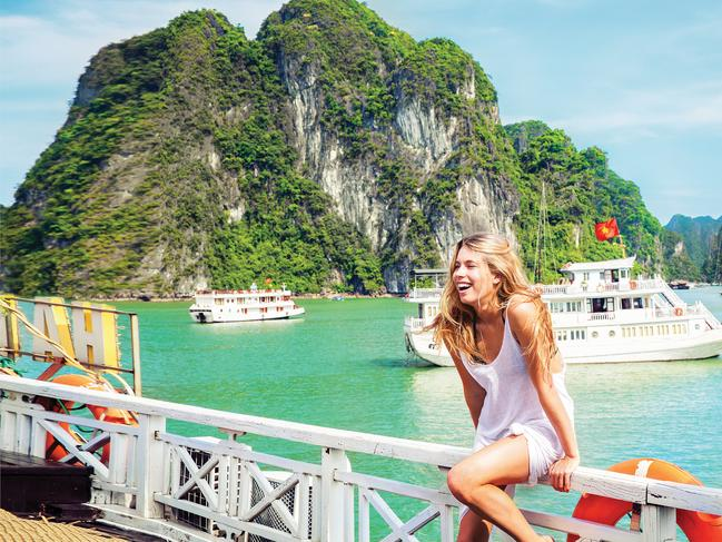 Contiki is offering up to 15 per cent off trips in Asia. Picture: Contiki