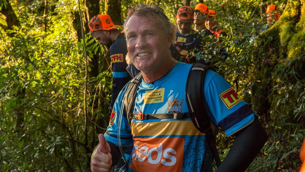 Gold Coast Titans coach Garth Brennan.