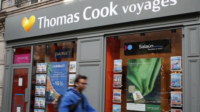 Thomas Cook was a huge travel company with operations throughout Europe, such as France above. Picture: AP Photo/Francois Mori