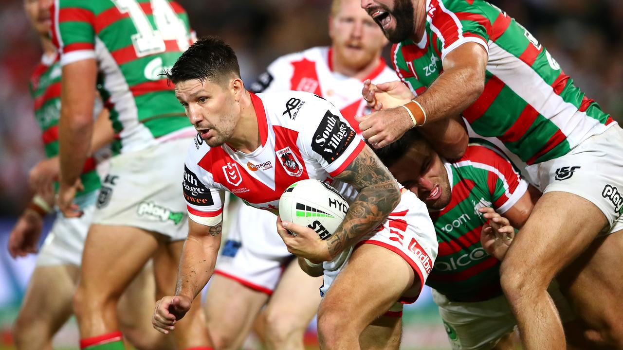 Gareth Widdop has struggled in his transition to fullback so far in 2019.