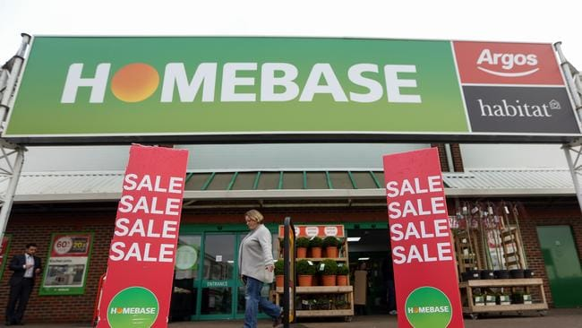 Wesfarmers took over UK DIY retailer Homebase. Picture: Chris Ratcliffe/Bloomberg