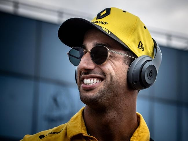 The rest of the day got better for Ricciardo.
