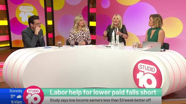 Kerri-Anne Kennerley delivered an extraordinary rant about Labor policy.