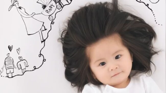 Baby Chanco stars in Pantene ad