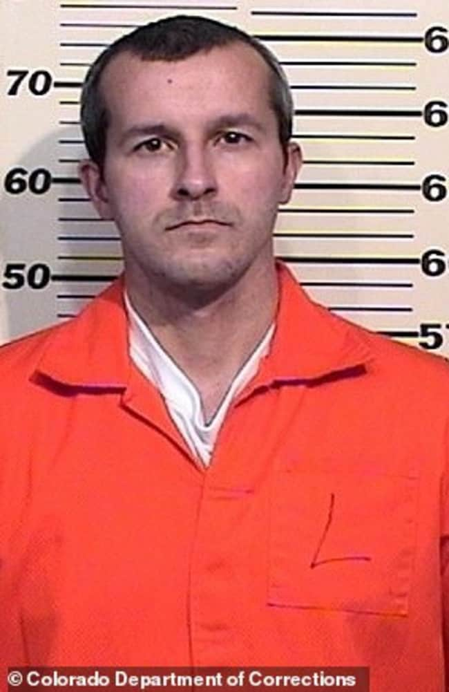 Chris Watts in his mug shot booking photo after being convicted of murder