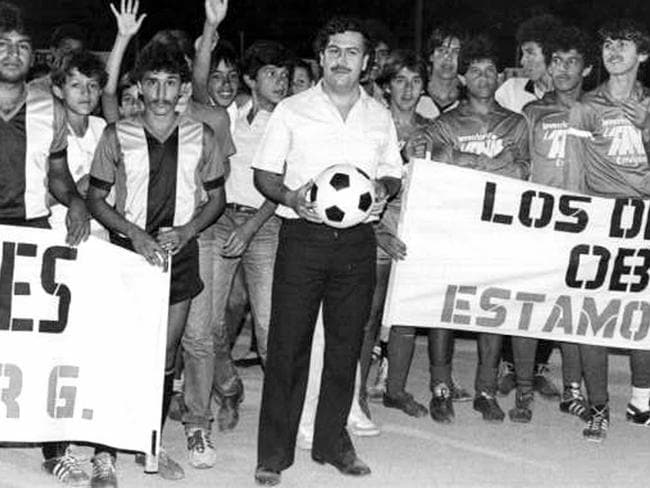 Escobar was behind about 80 per cent of America's cocaine supply in the 80s and by the 90s, he had a net worth of about $40 billion.