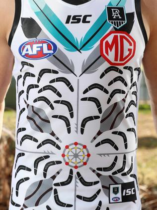 Afl 2020 Port Adelaide Unveil Indigenous Jumper Geelong Advertiser