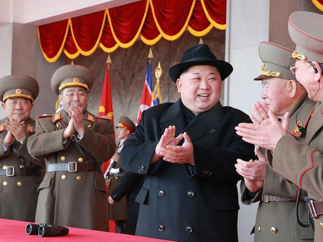 North Korean leader Kim Jong-un has agreed to meet the US President for a second summit between the two countries to talk about denuclearisation. Picture: AFP