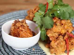 Indo fritters.
