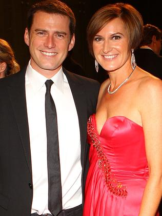 """Karl Stefanovic and his wife Cassandra Thorburn in 2011. Picture: Getty  <a capiid=""""7218f7b6997306c42153138cf61f71ea"""" class=""""capi-video"""">Who is Jasmine Yarbrough?</a>"""