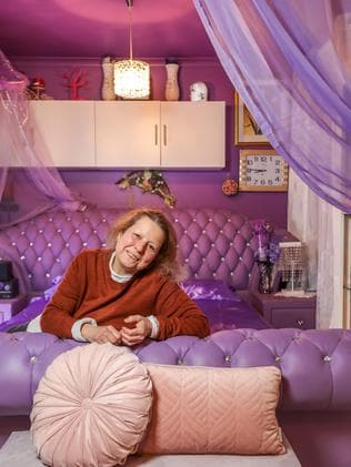 Ms Saleh's bedroom is her favourite room in the house. Picture: Tim Carrafa