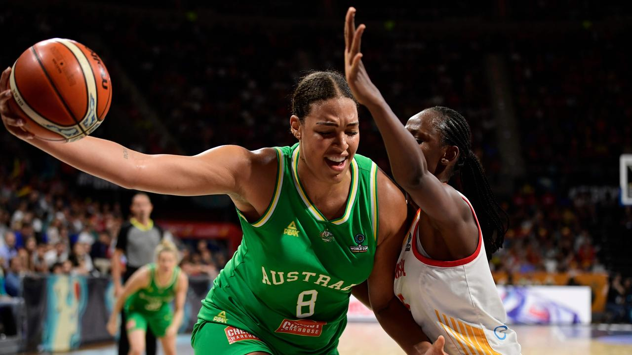 Liz Cambage excelled for Australia in the FIBA World Cup in September, helping the Opals earn a silver medal.