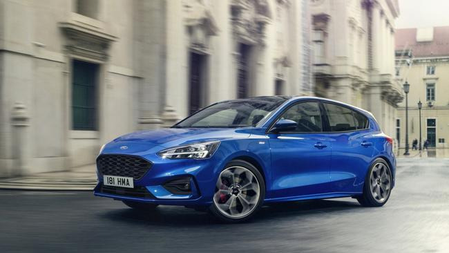 The new Ford Focus will be able to 'see' around corners before it gets to them, and has the latest semi-autonomous tech. Picture: Supplied