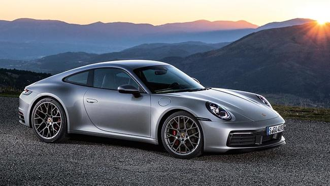 The new 911 can sense if it is on a wet road.