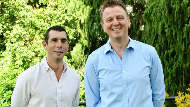 Chris Hancock (left) and Greg Inglis (right) of Picaluna. PIcture: Supplied