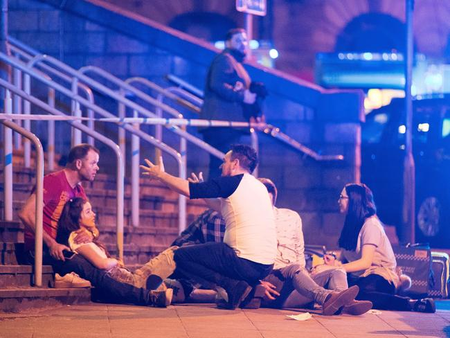 It's feared many young people were injured in the attack. Picture: Joel Goodman/LNP