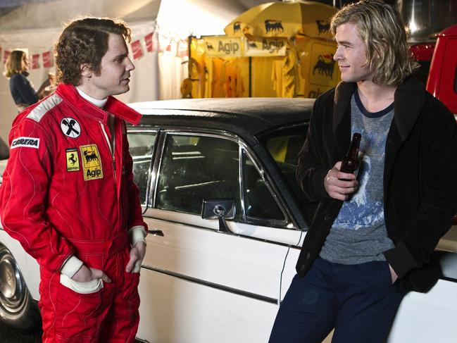 Niki Lauda was played by actor Daniel Bruhl in Hollywood film Rush.