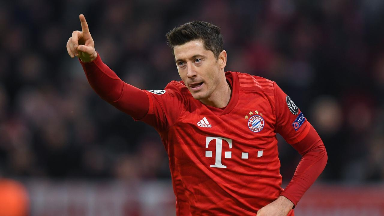 Lewandowski has scored more goals in all competitions this season than any other player in the top five European leagues