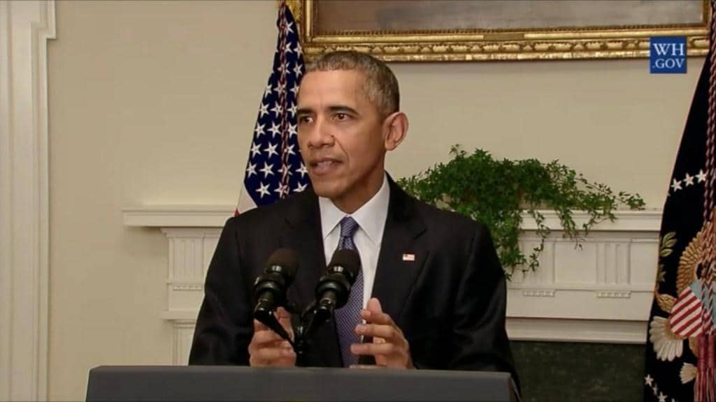 Obama announces historic climate change agreement