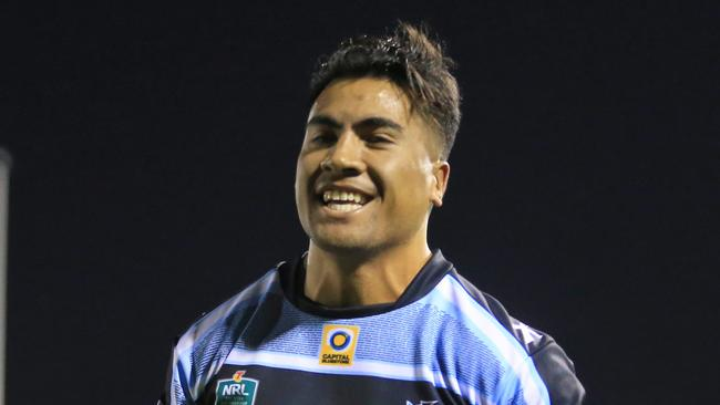 Sosaia Feki has re-signed with the Sharks. pic Mark Evans