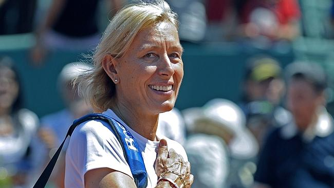 Tennis legend Martina Navratilova still has the drive to ...