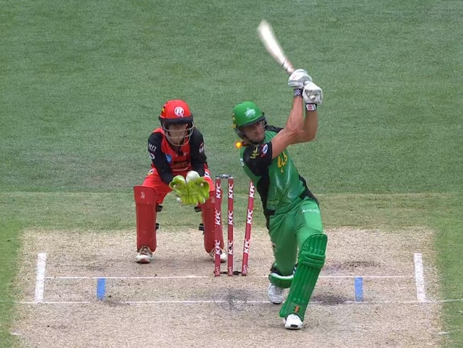 Stoinis opened the door slightly for the Renegades.