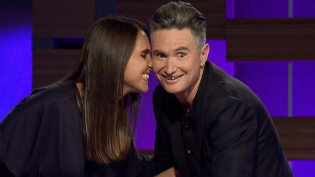 Hughesy was stunned by a comment from his wife on his TV show.