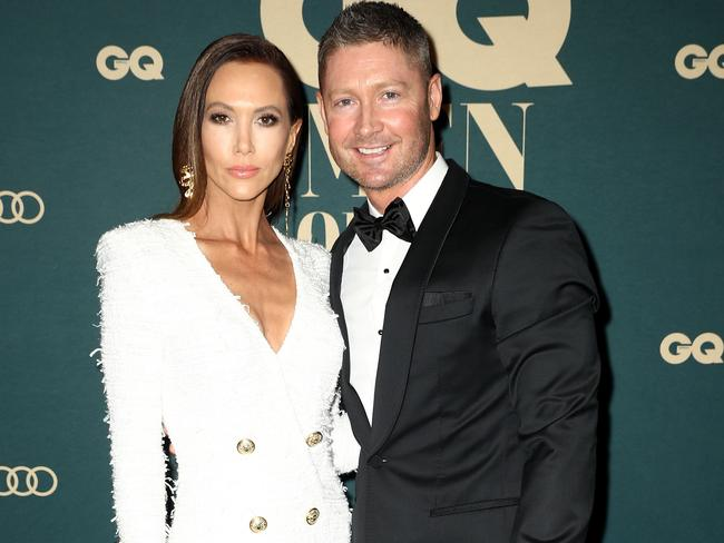 A then single Kyly Clake, now the wife of Michael Clarke, starred on the show as one of the glamorous female contestants. Picture: Ryan Pierse/Getty Images for GQ Australia.