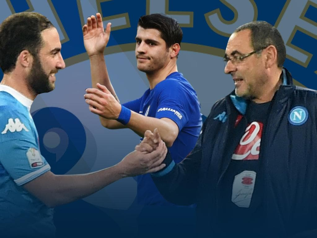 Gonzalo Higuain has signed for Chelsea