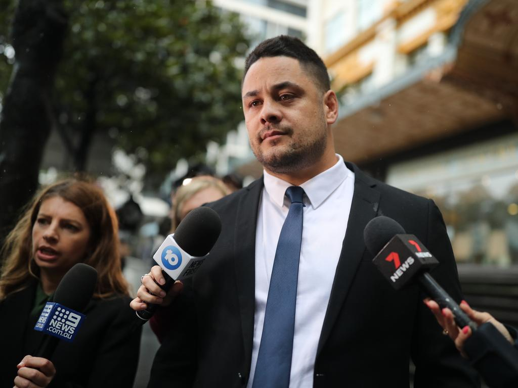 "Jarryd Hayne has been told that it is ""inevitable"" he will be sent to prison after being found guilty of sexual assault. Picture: NCA NewsWire / Christian Gilles."