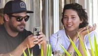 ONE TIME WEB USE ONLY - FEES APPLY FOR REUSE - Zac Efron and Aussie girlfriend Vanessa Valladares step out for brunch in Lennox Head  EXCLUSIVE 5 September 2020 Picture: Media Mode