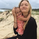 MUM'S the word! In celebration of Mother's Day we bring you all the cutest snaps from Australia's favourite celebrity mums and bubs.. Model Gemma Ward with her daughter Nahla. Picture: Instagram