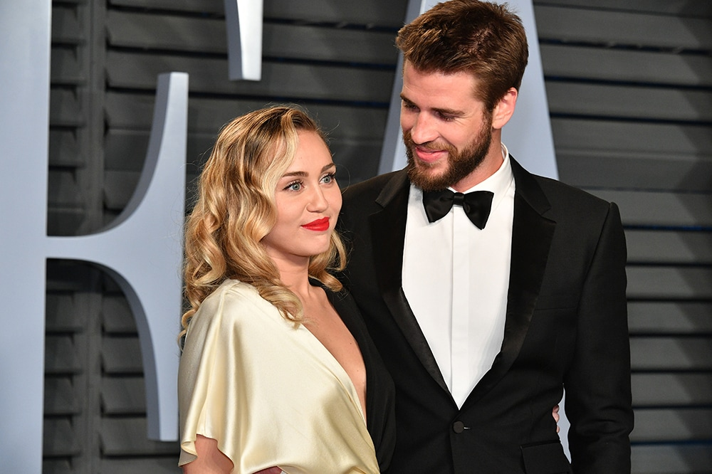 Miley Cyrus has changed her name to Miley Hemsworth