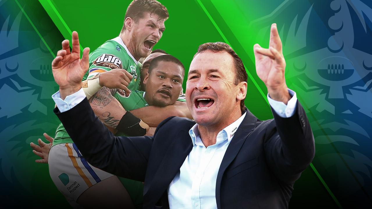Ricky Stuart has ripped the 'Faders' tag off his side.