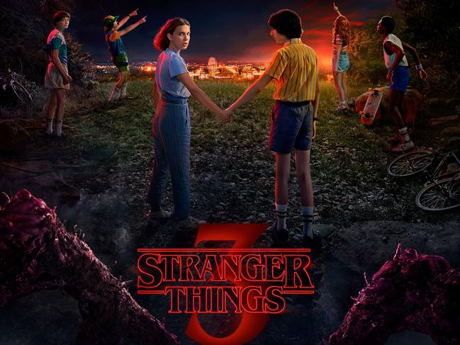 Adding Netflix with its hit shows such as Stranger Things is a headline-grabber. Picture: Supplied