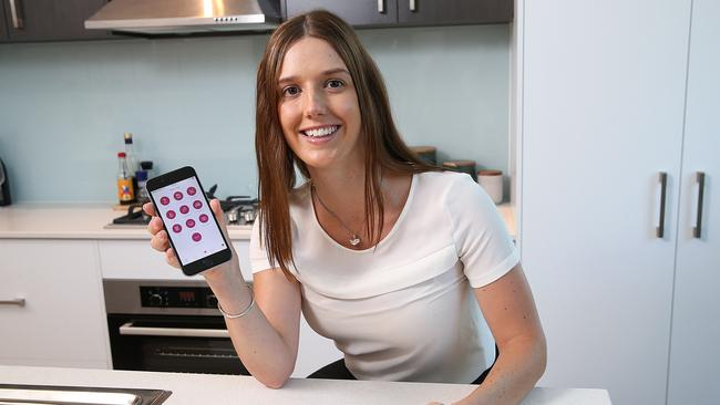 Hollie Johnson, 28, has used Airtasker once a month for years. Picture : Ian Currie