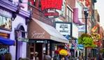 ESCAPE: GROUP TRAVEL COVER STORY, PAUL EWART. View of country western neon signs on Lower Broadway in Nashville, TN. The district is famous for its country music entertainment and bars. Picture: The Travel Corporation