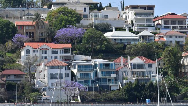 Brisbane home values slipped ... in the first 27 days of May, according to CoreLogic. Image: AAP/Darren England.