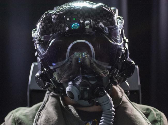 A Joint Strike Fighter F-35 Gen III Helmet. Picture: Supplied