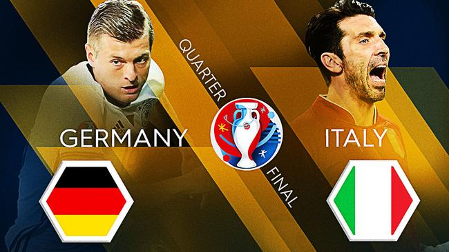 Germany v Italy.