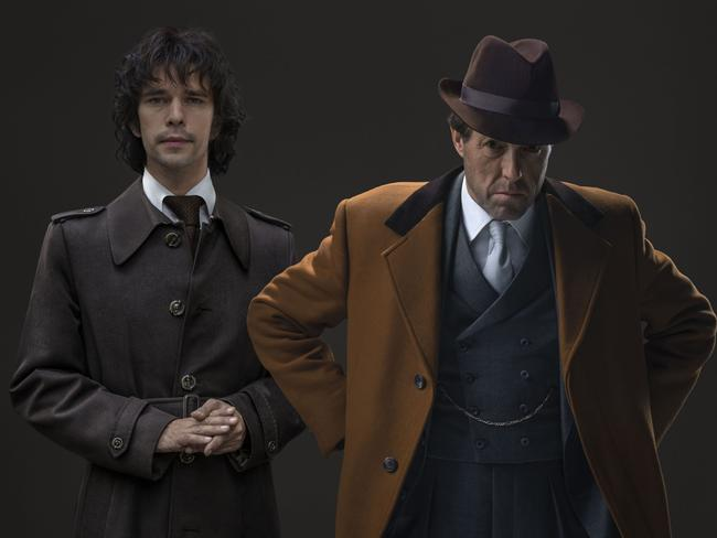 Ben Whishaw and Hugh Grant were both nominated for Emmys for A Very English Scandal. Picture: Supplied