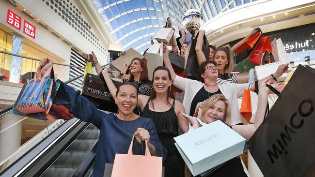 On your marks. Get set. Shop! Australian retailers have embraced the Black Friday sales to kickstart the Christmas selling season. Picture: David Caird