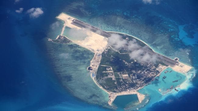 The Trump administration has called on Australia to up its participation in the South China Sea.