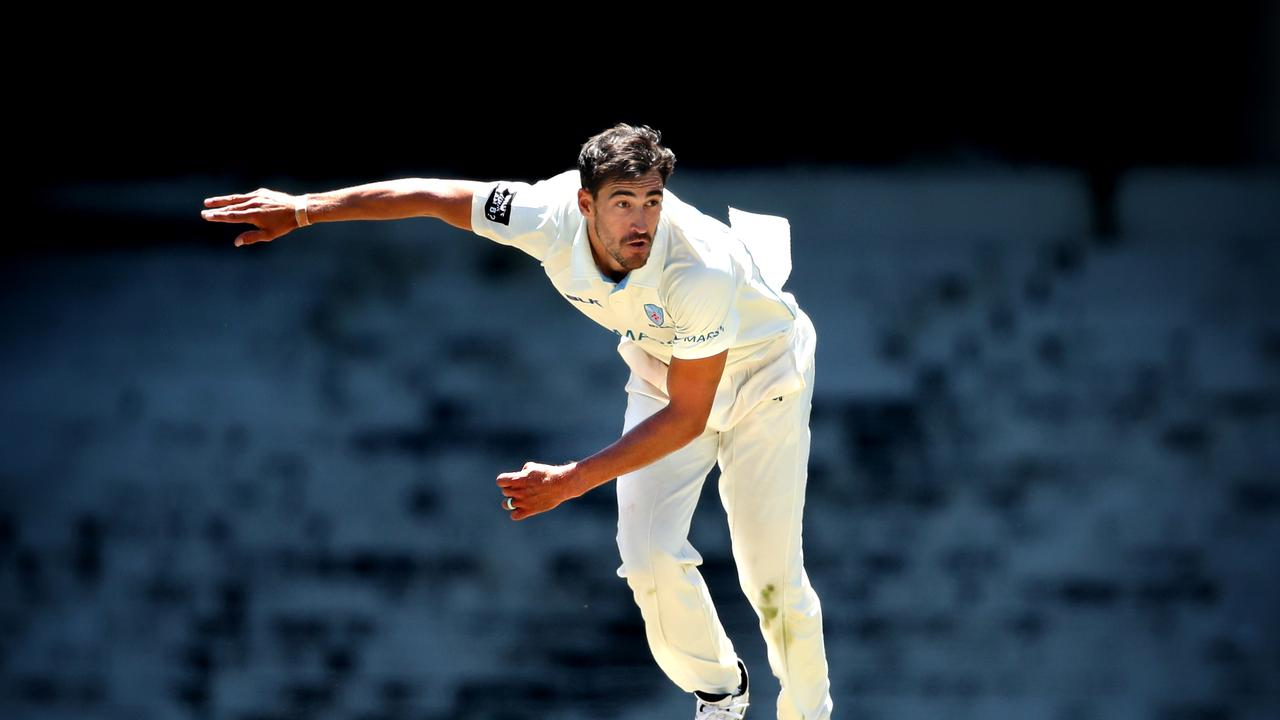 Mitchell Starc is seeing things clearly as he prepares to play Pakistan.