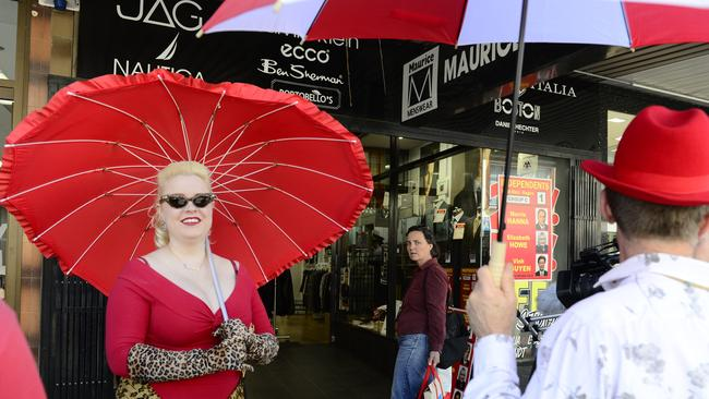 The red umbrella is as symbol used by sex workers worldwide.
