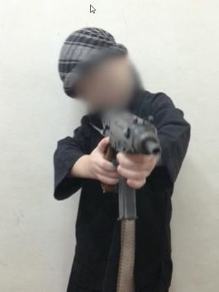It's not the first time Sharrouf's children have been pictured in Syria. Picture: ABC